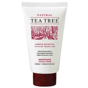 โฟมล้างหน้า Tea Tree Whitening Facial Foam