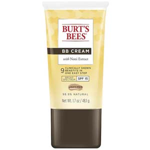 BURT'S BEES บีบีครีม BB Cream with Noni Extract SPF 15