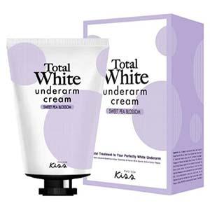 ครีมทาใต้วงแขน Malissa Kiss Total White Underarm Cream