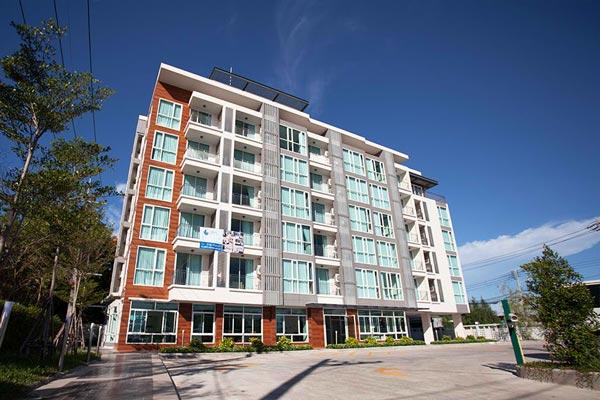 บีบีจี ซีไซด์ ลักชัวเรียส เซอร์วิส อพาร์ตเมนท์ (BBG Seaside Luxurious Service Apartment)