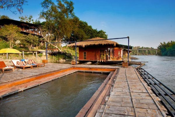 บูติค ราฟท์ รีสอร์ท ริเวอร์แคว (Boutique Raft Resort River Kwai)