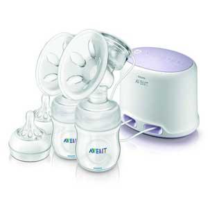 เครื่องปั๊มนมไฟฟ้า Philips Avent Electric breast pump รุ่น SCF334/02