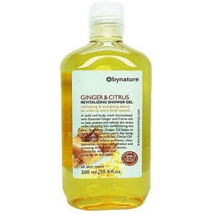 แชมพูออร์แกนิค Bynature Ginger&Citrus Revitalizing Shampoo