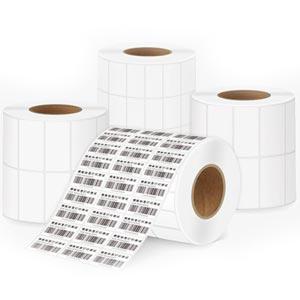 Barcode Sticker Label สติ๊กเกอร์บาร์โค้ดความร้อน สำหรับพิมพ์บาร์โค้ด 2-3 แถว