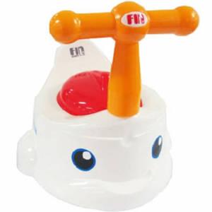 กระโถนเด็ก สำหรับฝึกขับถ่าย มีที่จับ กระโถนปลา รุ่น USE-A05