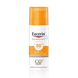 ซีซีครีม Eucerin Sun CC Cream SPF50+