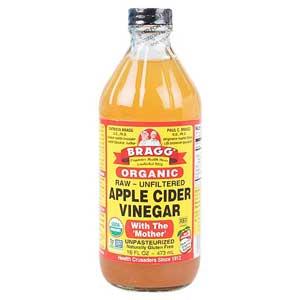 Bragg Apple Cider Vinegar น้ำแอปเปิ้ลไซเดอร์ (น้ำส้มสายชูแอปเปิ้ล)