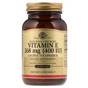 วิตามินอีธรรมชาติ Solgar Naturally Sourced Vitamin E