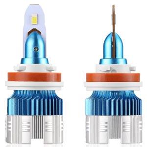Anmingpu หลอดไฟหน้า LED รถยนต์ มีหลายขั้ว รุ่น MI2 8000lm