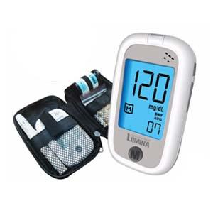Lumina OK Meter SET MINI เครื่องตรวจน้ำตาล ตรวจเบาหวาน