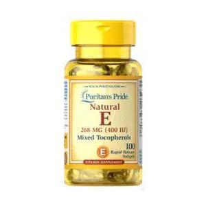 Puritan's Pride Vitamin E วิตามินอี สารต้านอนุมูลอิสระ