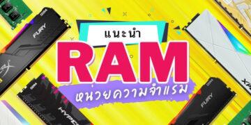 รีวิว RAM DDR4 รุ่นไหนดี ปี 2021