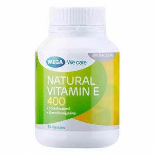 วิตามินอี Mega We Care Natural Vitamin E