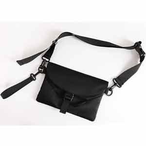 กระเป๋าสะพาย สะพายข้าง สำหรับผู้ชาย ผ้าไนล่อน กันน้ำ แบบบาง ขนาดกระทัดรัด