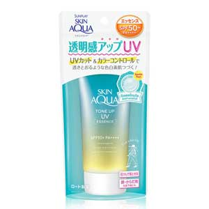 ครีมกันแดด Sunplay Skin Aqua Tone Up UV Essence SPF50+/PA++++