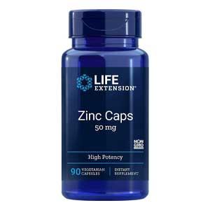 อาหารเสริมซิงค์ Life Extension® Zinc Caps High Potency