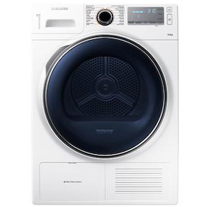 Samsung เครื่องอบผ้า ระบบ Condenser รุ่น DV90H8000HW ความจุ 9 กก.