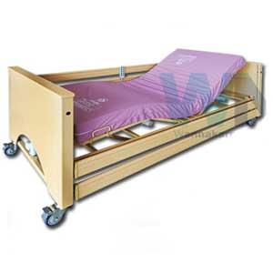 เตียงผู้ป่วยปรับไฟฟ้า 5 Function พร้อมเบาะที่นอนสี่ตอน