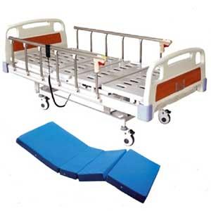 เตียงผู้ป่วยระบบไฟฟ้า 3 ไกร์ ราวสไลด์ รุ่น YXZ-C303