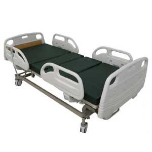 เตียงผู้ป่วยไฟฟ้า 5 ฟังก์ชั่น ราวปีกนก