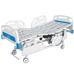 เตียงผู้ป่วย ระบบไฟฟ้า 3 ไกร์ พร้อมเบาะรอง