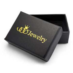 555jewelry กล่องเครื่องประดับ ลายหนัง