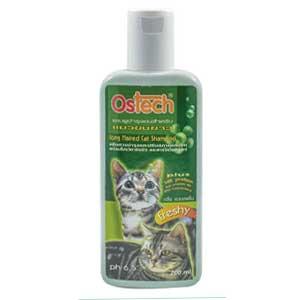 Ostech Cat แชมพูแมว สูตร Long Hair