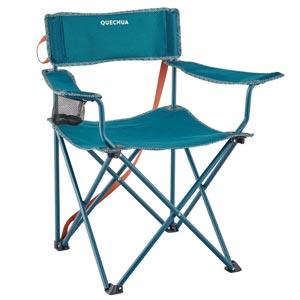 QUECHUA เก้าอี้สนาม เก้าอี้พับ สำหรับการตั้งแคมป์ รุ่น BASIC
