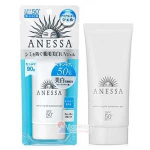 Shiseido Anessa Whitening UV Sunscreen Gel ครีมกันแดดสูตรช่วยบำรุงผิวขาว