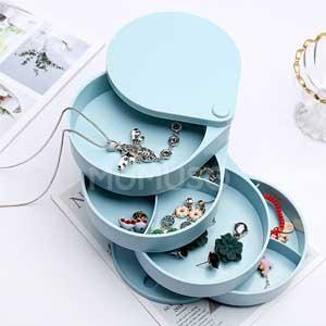 mumuso กล่องเก็บต่างหู กล่องใส่ต่างหู
