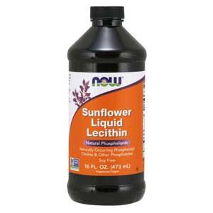 เลซิติน จากเมล็ดดอกทานตะวัน Now Foods® Sunflower Liquid Lecithin