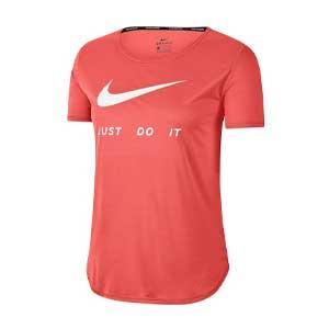 เสื้อวิ่งผู้หญิง NIKE Run Women's Running T-Shirt