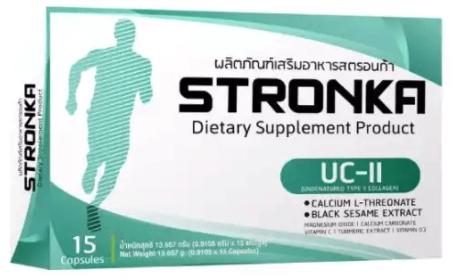 STRONKA สตรอนก้า อาหารเสริมคอลลาเจน (Collagen Type II) บำรุงกระดูกและข้อ