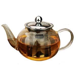 กาชงชาทรงกลมอ้วนปากสั้น
