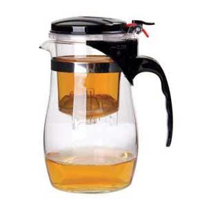 กาน้ำชา กาแฟ กาแก้วชงชา พร้อมไส้กรอง