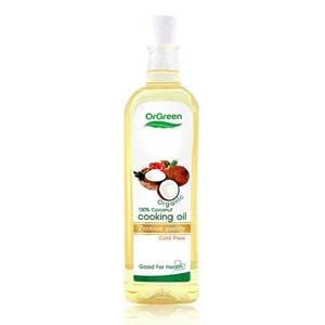 น้ำมันมะพร้าว OrGreen Coconut Cooking Oil
