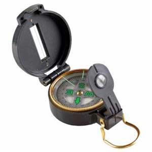 เข็มทิศเดินป่า Lensatic Compass ลายพราง