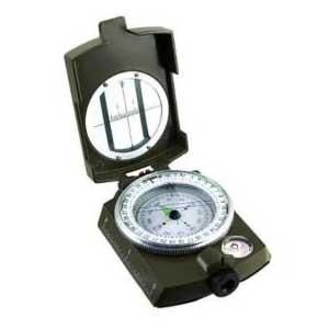 เข็มทิศเดินป่า Lensatic Compass