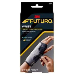 Futuro™ Comfort Stabilizing Wrist Brace 10770ENR, Adjustable ที่พยุงข้อมือแบบเสริมเหล็ก