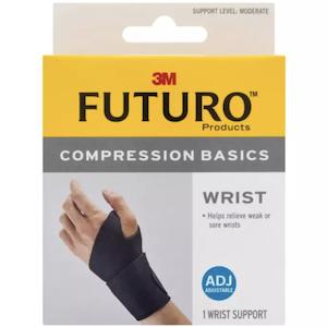 Futuro™ Compression Basics Wrist อุปกรณ์พยุงข้อมือ รุ่นเบสิค แบบปรับกระชับได้