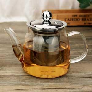 KitchenMarks กาน้ำชา กาชงชาทรงโค้งสูงปากยาว