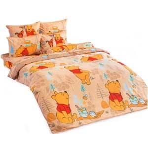 TOTO ชุดเครื่องนอนโตโตและผ้านวม ลิขสิทธิ์แท้ 100% หมีพูคลาสสิก