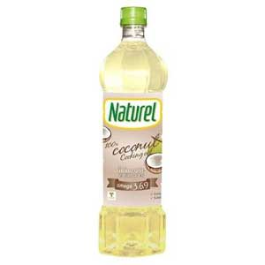 naturel (keto-friendly) น้ำมันมะพร้าวสำหรับปรุงอาหาร