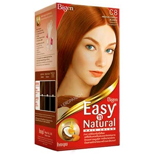 Bigen Easy n' Natural Hair Color ครีมเปลี่ยนสีผม อ่อนโยนต่อเส้นผมและหนังศรีษะ