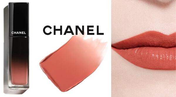 ลิปสติก Chanel Rouge Allure Laque สี 61 - CONTINUOUS