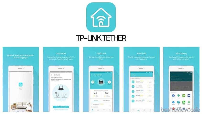 """แอพลิเคชั่น """"TP-Link Tether"""""""