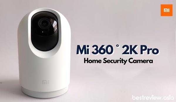 กล้องรักษาความปลอดภัยภายในบ้าน Mi 360 ° 2K Pro