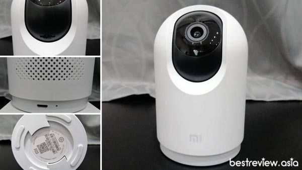 ตำแหน่งต่าง ๆ บนกล้อง Mi 360 ° 2K Pro