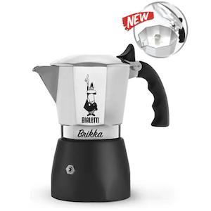 มอคค่าพอท Bialetti รุ่น New Brikka 2020 ขนาด 2 ถ้วย  (เบียเล็ตติ้ บริกก้า)