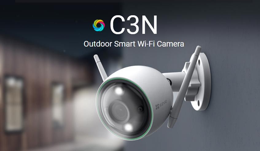 Ezviz C3N Outdoor Smart Wi-Fi Camera